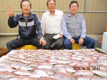 奥村釣船の2019年9月25日(水)5枚目の写真