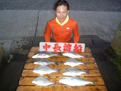 中長渡船の2019年9月26日(木)1枚目の写真