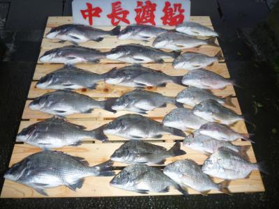 中長渡船の2019年9月28日(土)1枚目の写真