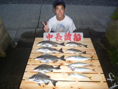中長渡船の2019年9月29日(日)1枚目の写真
