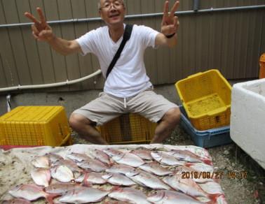 奥村釣船の2019年9月27日(金)1枚目の写真