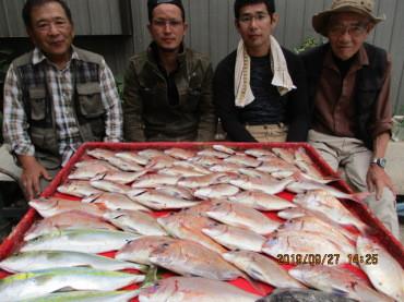 奥村釣船の2019年9月27日(金)3枚目の写真