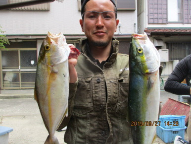 奥村釣船の2019年9月27日(金)4枚目の写真