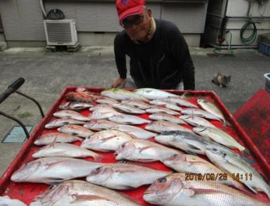 奥村釣船の2019年9月28日(土)2枚目の写真