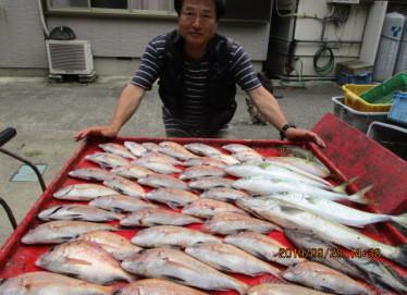 奥村釣船の2019年9月28日(土)4枚目の写真