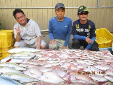 奥村釣船の2019年9月29日(日)3枚目の写真