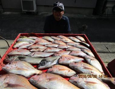 奥村釣船の2019年9月29日(日)4枚目の写真