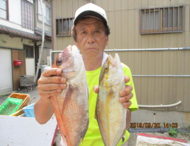 奥村釣船の2019年9月30日(月)2枚目の写真