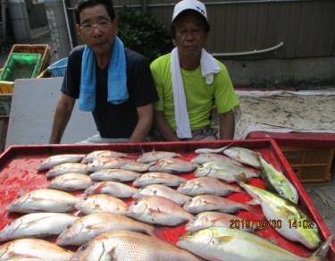 奥村釣船の2019年9月30日(月)3枚目の写真