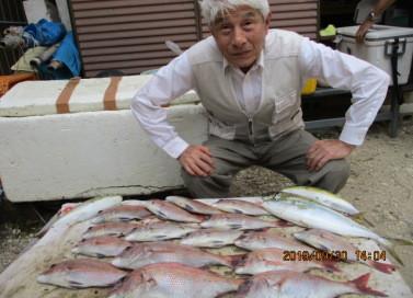 奥村釣船の2019年9月30日(月)4枚目の写真