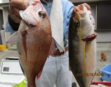 奥村釣船の2019年10月10日(木)4枚目の写真