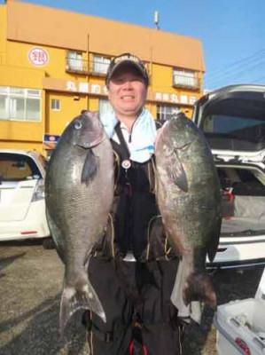 丸銀釣りセンターの2019年9月25日(水)5枚目の写真
