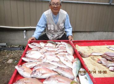 奥村釣船の2019年10月14日(月)1枚目の写真