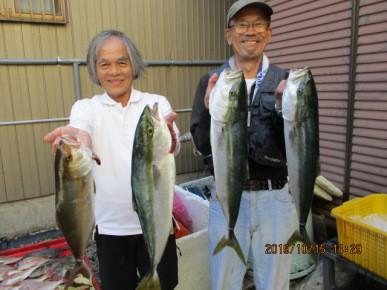 奥村釣船の2019年10月15日(火)3枚目の写真
