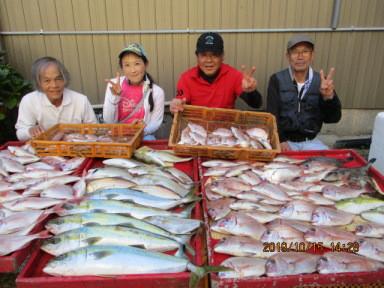 奥村釣船の2019年10月15日(火)5枚目の写真
