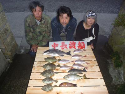 中長渡船の2019年10月16日(水)1枚目の写真