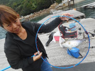 由良海つり公園&釣堀ランドの2019年10月18日(金)1枚目の写真