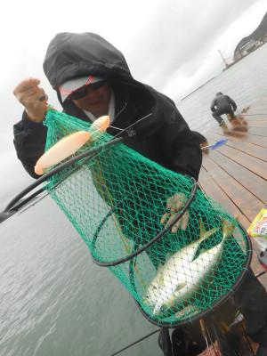 由良海つり公園&釣堀ランドの2019年10月19日(土)1枚目の写真