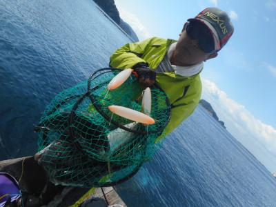 由良海つり公園&釣堀ランドの2019年10月22日(火)2枚目の写真