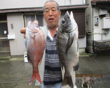 奥村釣船の2019年10月19日(土)1枚目の写真