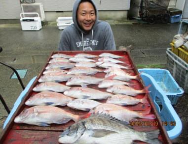 奥村釣船の2019年10月19日(土)2枚目の写真