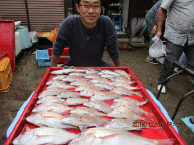 奥村釣船の2019年10月19日(土)3枚目の写真