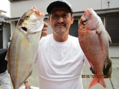 奥村釣船の2019年10月20日(日)1枚目の写真