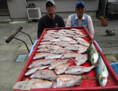 奥村釣船の2019年10月20日(日)2枚目の写真
