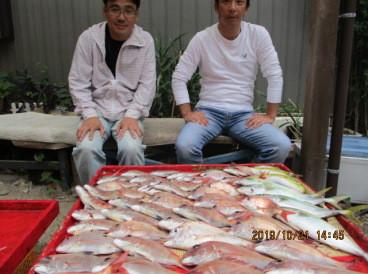 奥村釣船の2019年10月21日(月)1枚目の写真