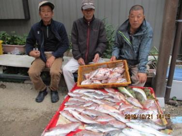 奥村釣船の2019年10月21日(月)3枚目の写真