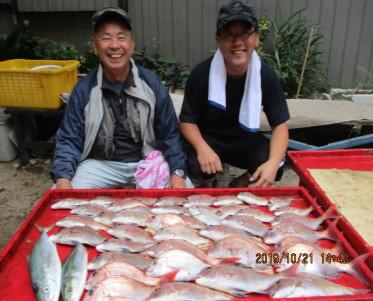 奥村釣船の2019年10月21日(月)4枚目の写真