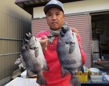 奥村釣船の2019年10月23日(水)1枚目の写真