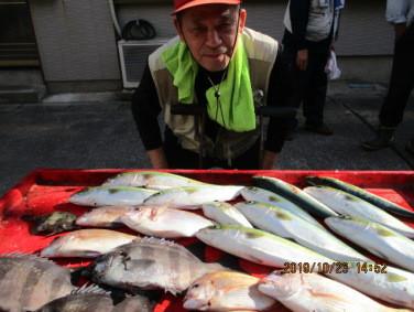 奥村釣船の2019年10月23日(水)3枚目の写真