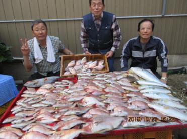 奥村釣船の2019年10月23日(水)4枚目の写真