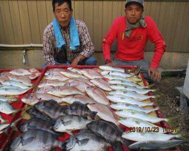 奥村釣船の2019年10月23日(水)5枚目の写真
