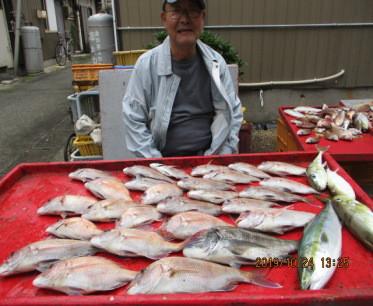 奥村釣船の2019年10月24日(木)1枚目の写真