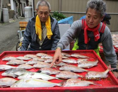 奥村釣船の2019年10月24日(木)2枚目の写真
