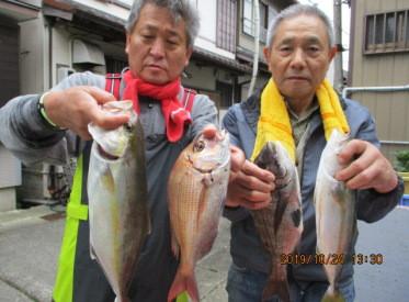 奥村釣船の2019年10月24日(木)3枚目の写真
