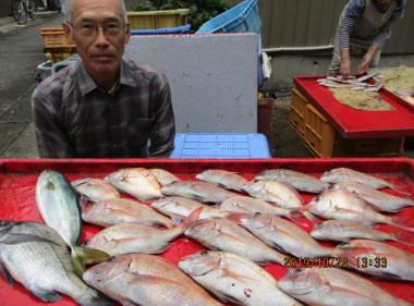 奥村釣船の2019年10月24日(木)4枚目の写真