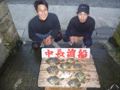 中長渡船の2019年10月25日(金)1枚目の写真