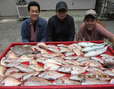 奥村釣船の2019年10月26日(土)2枚目の写真