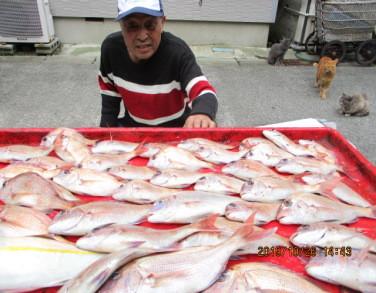 奥村釣船の2019年10月26日(土)3枚目の写真
