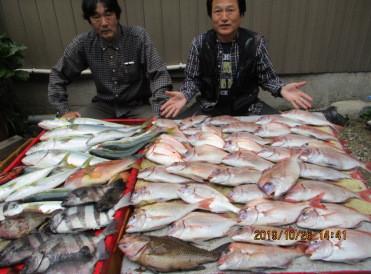 奥村釣船の2019年10月26日(土)4枚目の写真