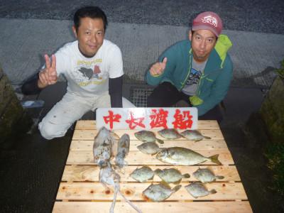 中長渡船の2019年10月27日(日)1枚目の写真