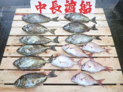 中長渡船の2019年10月28日(月)2枚目の写真
