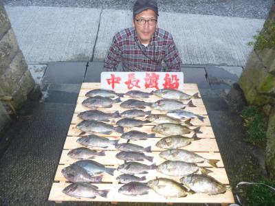 中長渡船の2019年10月30日(水)1枚目の写真