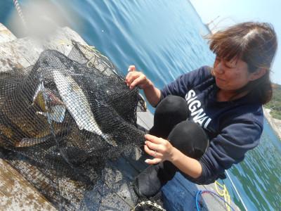 由良海つり公園&釣堀ランドの2019年10月30日(水)1枚目の写真