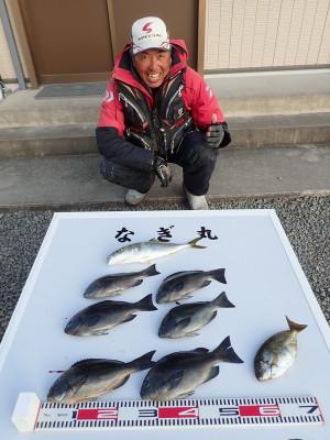 なぎ丸渡船の2019年11月9日(土)1枚目の写真