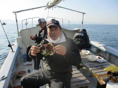 釣具の海友の2019年11月9日(土)1枚目の写真