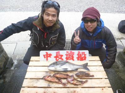 中長渡船の2019年11月19日(火)1枚目の写真